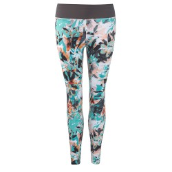 Head Vision Graphic 7/8 Pants W - Turquoise & Anthracite