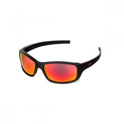 Julbo Slick Spectron 3 CF Lens Sunglasses (Matt Black + Flash Red)
