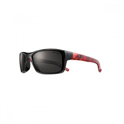 Julbo Cobalt Spectron 3 Lens Sunglasses (Shiny Black + Red)