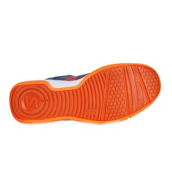 Salming Falco Indoor Court Shoes-Limoges Blue/Orange Flame