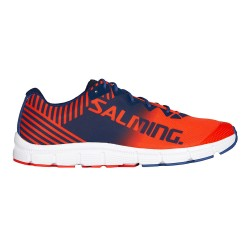 Salming Miles Lite Running Shoes (Orange Flame & Limoges Blue)